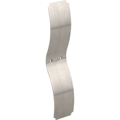 Picture of F 2538 - Wood Window Side Mount Sash Spring, 1-1/4 inch Wide, 5-1/2 inches Long, Chrome Plated
