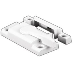 Picture of F 2554 - Window Sash Lock, Cam Action, Diecast, White, 2-1/8 inch Hole Centers, Pack of 1