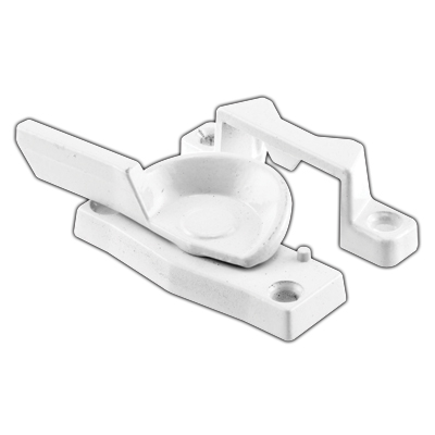 Picture of F 2584 - Cam Action Sash Lock, Diecast, White Finish, 2 inch Hole Centers. Pack of 1