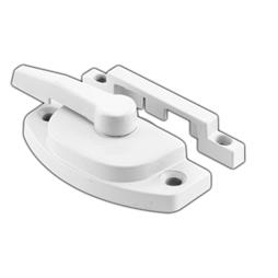 "Picture of F 2588 - Window Sash Lock, 2-1/16"", Diecast, White, Pack of 1"