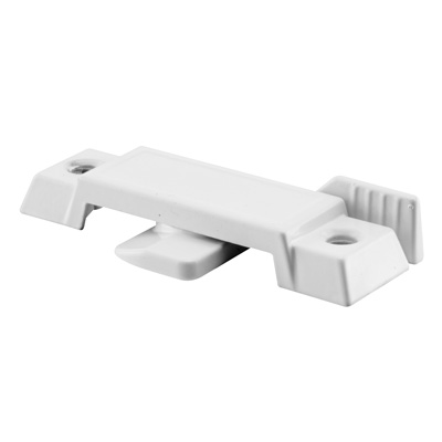 Picture of F 2592 - Window Sash Lock, Cam Action, Diecast, White, 2-1/4 inch Hole Centers, Pack of 1