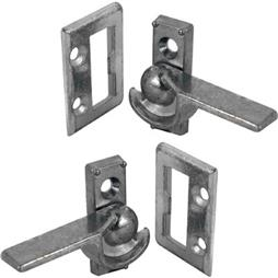 "Picture of F 2613 - Latch, 7/8"" HC, Diecast, 1 Left & 1 Right, Bright Zinc"