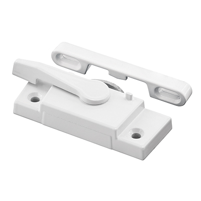 Picture of F 2626 - Window Sash Lock, Diecast, Right Hand, White, 2-1/16 inch Hole Center, Pack of 1