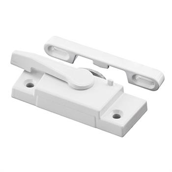 Prime-Line Products F 2626 Window Sash Lock with Keeper White Right Hand Better Bilt