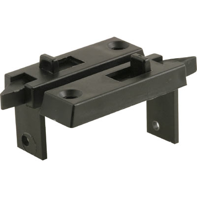 Picture of F 2628 - Tilt Latch, Spring Loaded , Wrap around design, Black, 1 Pair