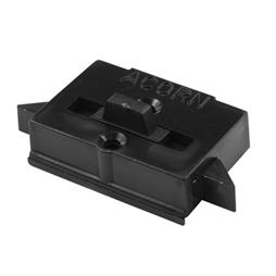 "Picture of F 2645 - Tilt Latch, 9/16"" HC, Vinyl, Black"