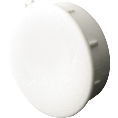 Picture of F 2655 - Vinyl Window or Door Hole Plug, 1/4 Inch, White Plastic,  4 Pack