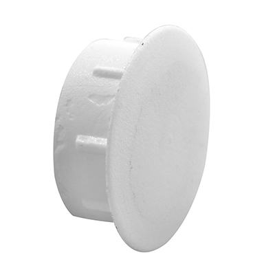 Picture of F 2657 - Vinyl Window or Door Hole Plug, 1/2 Inch, White Plastic,  4 Pack