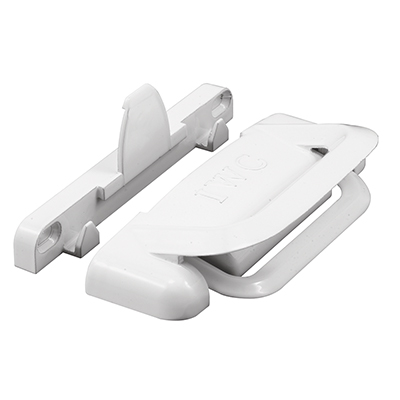 Picture of F 2686 - Sliding Window Slam Latch Assembly, Die Cast, White, Fits International Window, Pack of 1