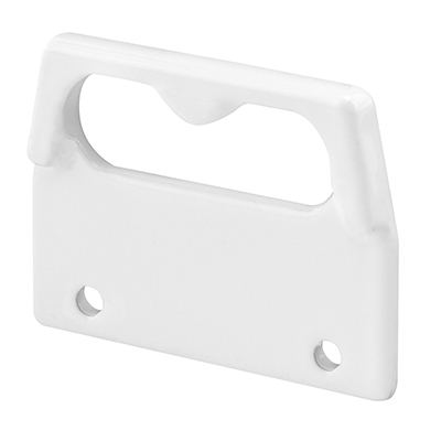 Picture of F 2738 - Diecast, Face Mount Keeper, for Double Hung Vinyl Windows, White,Pack of 2
