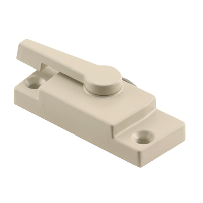 Picture of F 2747 - Window Sash Lock, Diecast Construction, Almond Painted, 2-1/16 inch Hole centers, Pack of 1