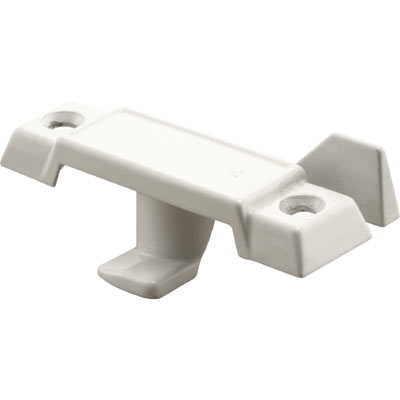 Picture of F 2756 - Window Sash Lock, Diecast, White Finish, 2-1/4 inch Hole Centers, Pack of 1