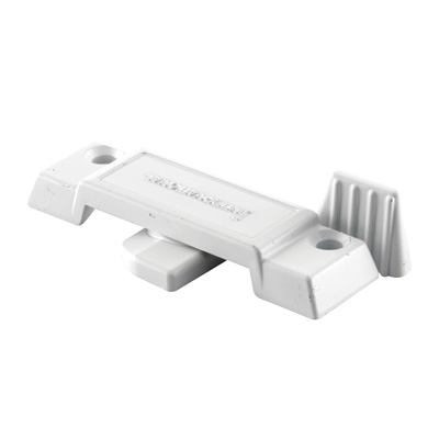 Picture of F 2780 - Sliding Window Sash Lock, Diecast, White Finish, 2-1/4 inch Hole Centers, Pack of 1