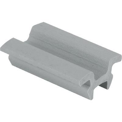 """Picture of G 3028 - Top guide, 1/4"""", Plastic, Gray"""