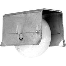 """Picture of G 3041 - Roller Assembly, 1/2"""", Plastic, Convex"""