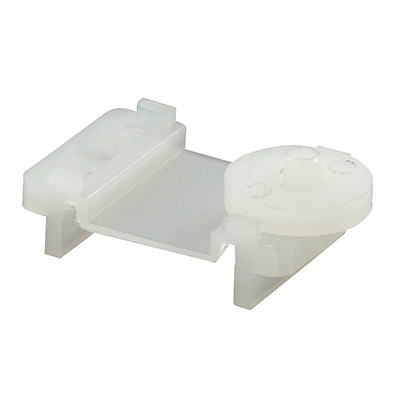 """Picture of G 3044 - Roller Assembly, 7/16"""" Plastic, Flat Edge"""