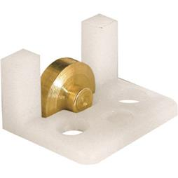 """Picture of G 3061 - Roller Assembly, 5/16"""", Brass, Flat Edge"""
