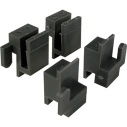 Picture of G 3078 - Corner Guide Set, Plastic, Black