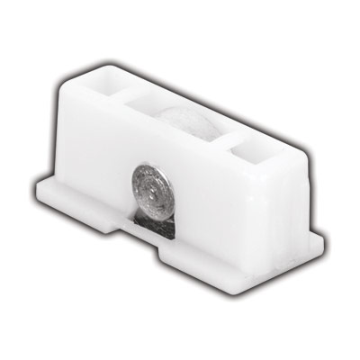 """Picture of G 3089 - Roller assembly, 1/2"""", Steel, Flat Edge Roller"""