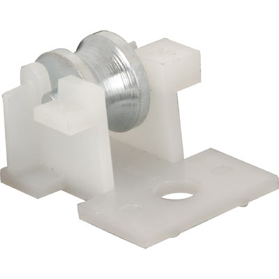 """Picture of G 3106 - Roller Assembly, 7/16"""" Steel, Plastic Housing"""