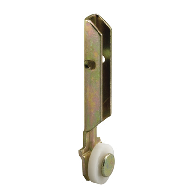 """Picture of G 3135 - Roller Assembly, 1/2"""", Plastic, Flat Edge"""