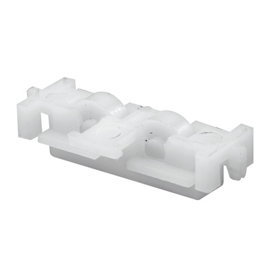 """Picture of G 3146 - Roller Assembly, 7/16"""" Flat Edge, Plastic"""