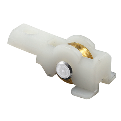 """Picture of G 3167 - Roller Assembly, 7/16"""" Steel, Flat Edge"""