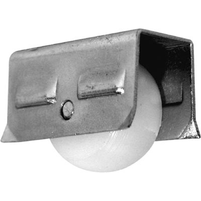 """Picture of G 3179 - Roller Assembly, 1/2"""", Plastic, Convex"""