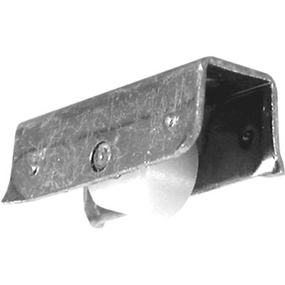 """Picture of G 3186 - Roller Assembly, 1/4"""", Plastic, Flat"""