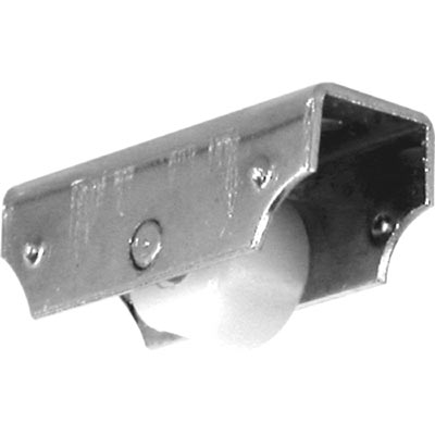 """Picture of G 3187 - Roller Assembly, 1/4"""", Plastic, Flat Edge"""