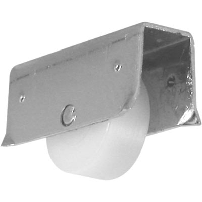 """Picture of G 3190 - Roller Assembly, 13/32"""", Plastic, Flat Edge"""