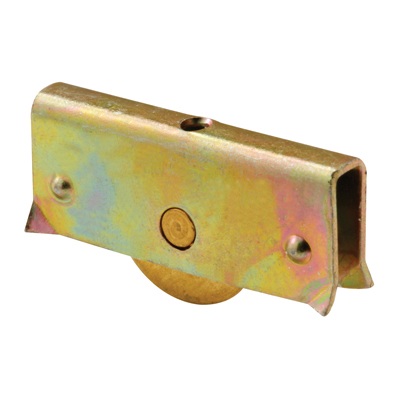 """Picture of G 3196 - Roller Assembly, 11/32"""", Brass, Flat Edge"""