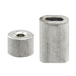 """Picture of GD 12150 - Cable Ferrules and Stops, 3/32"""", Aluminum"""