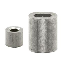 """Picture of GD 12151 - Cable Ferrules and Stops, 1/8"""", Aluminum"""