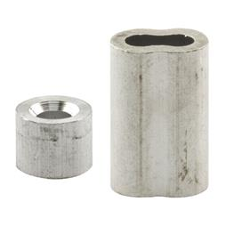 """Picture of GD 12154 - Cable Ferrules and Stops, 1/4"""", Aluminum"""