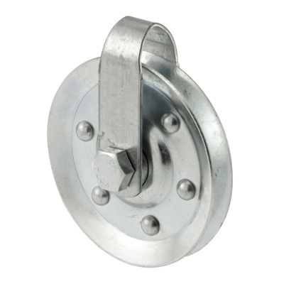 """Picture of GD 52109 - Pulley W/strap &axle Bolt (3"""" Diameter)"""