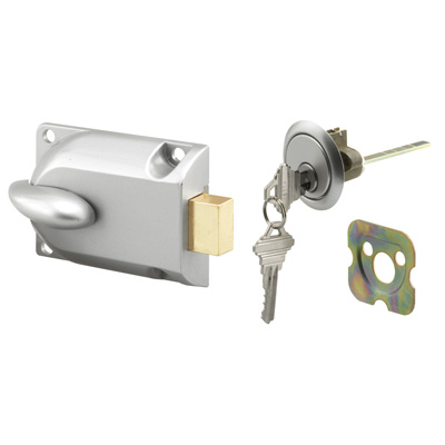 Picture of GD 52119 - Diecast Painted Aluminum, Center Mount Deadbolt Lock with Keyed Cylinder