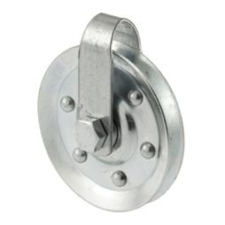 "Picture of GD 52189 - Pulley w/ Strap & Axle Bolt, 3"" Dia, Steel"