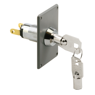 Picture of GD 52264 - Electric Key Switch (chrome/high Security)