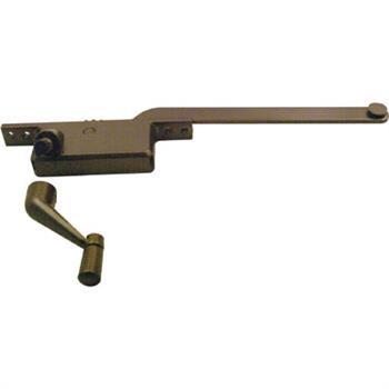 Picture of H 3516 - Casement Window Operator, LH, Square Body, Bronze, 8 inch Arm, 1 per pkg.