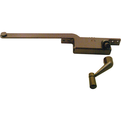 Picture of H 3521 - Casement Window Operator, RH, Square Body, Bronze, 7 inch Arm, 1 per pkg.