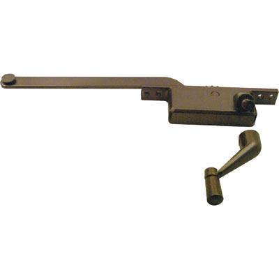 Picture of H 3522 - Casement Window Operator, RH, Square Body, Bronze, 8 inch Arm, 1 per pkg.