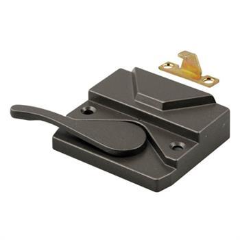 Picture of H 3572 - Vinyl or Wood Casement  Lock, Bronze, Left Hand, 1 per pkg.