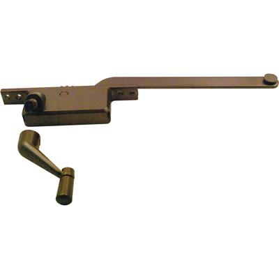 Picture of H 3587 - Casement Window Operator, LH, Square Body, Bronze, 6 inch Arm, 1 per pkg.
