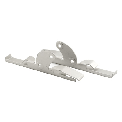 Picture of H 3619 - Jalousie Glass Clips for 4 inch glass, 1 Left, 1 Right, 1 set per pkg.