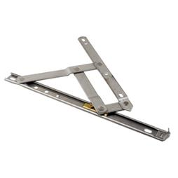 Picture of H 3627 - Casement or Projecting Window 4 Bar Hinge, 10 inch, Stainless Steel, 1 pair per pkg.