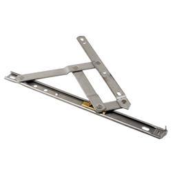 Picture of H 3628 - Casement or Projecting Window 4 Bar Hinge, 12 inch, Stainless Steel, 1 pair per pkg.