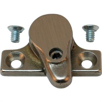 Picture of H 3633 - Casement Security Lock,  Heavy Bronze, Prevents Accidental Opening, 1 per pkg.