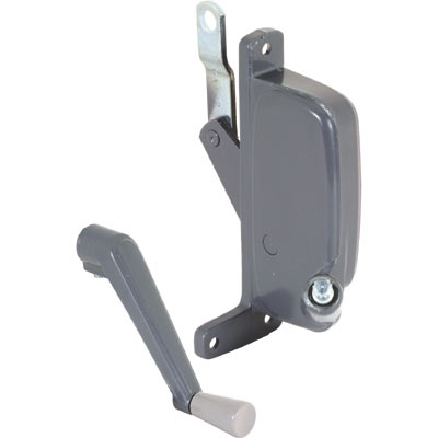 Picture of H 3672 - Stanley-C&E Awning Operator, Gray, RH, 2-3/16 inch Offset Link, 1 per pkg.
