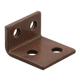 Picture of H 3703 - Casement Operator Bronze Brackets, Bronze, Converts to Surface Mount, 1 pair per pkg.